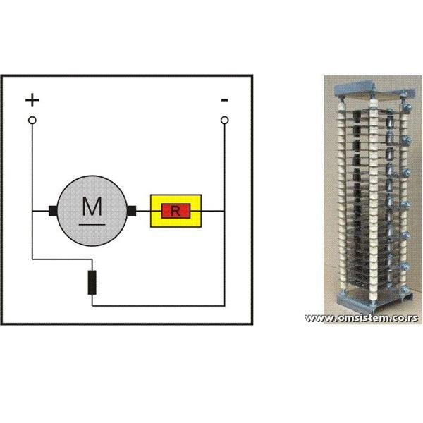Pokretanje, podešavanje broja obrtaja i kočenje jednosmernih elektromotora