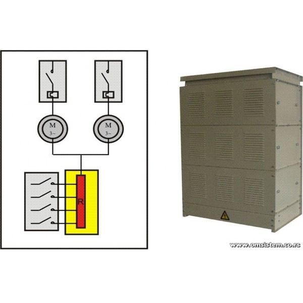 Sinhronizacija asinhronih kliznoprstenastih elektromotora zajedničkim otpornikom - Otpornički blok